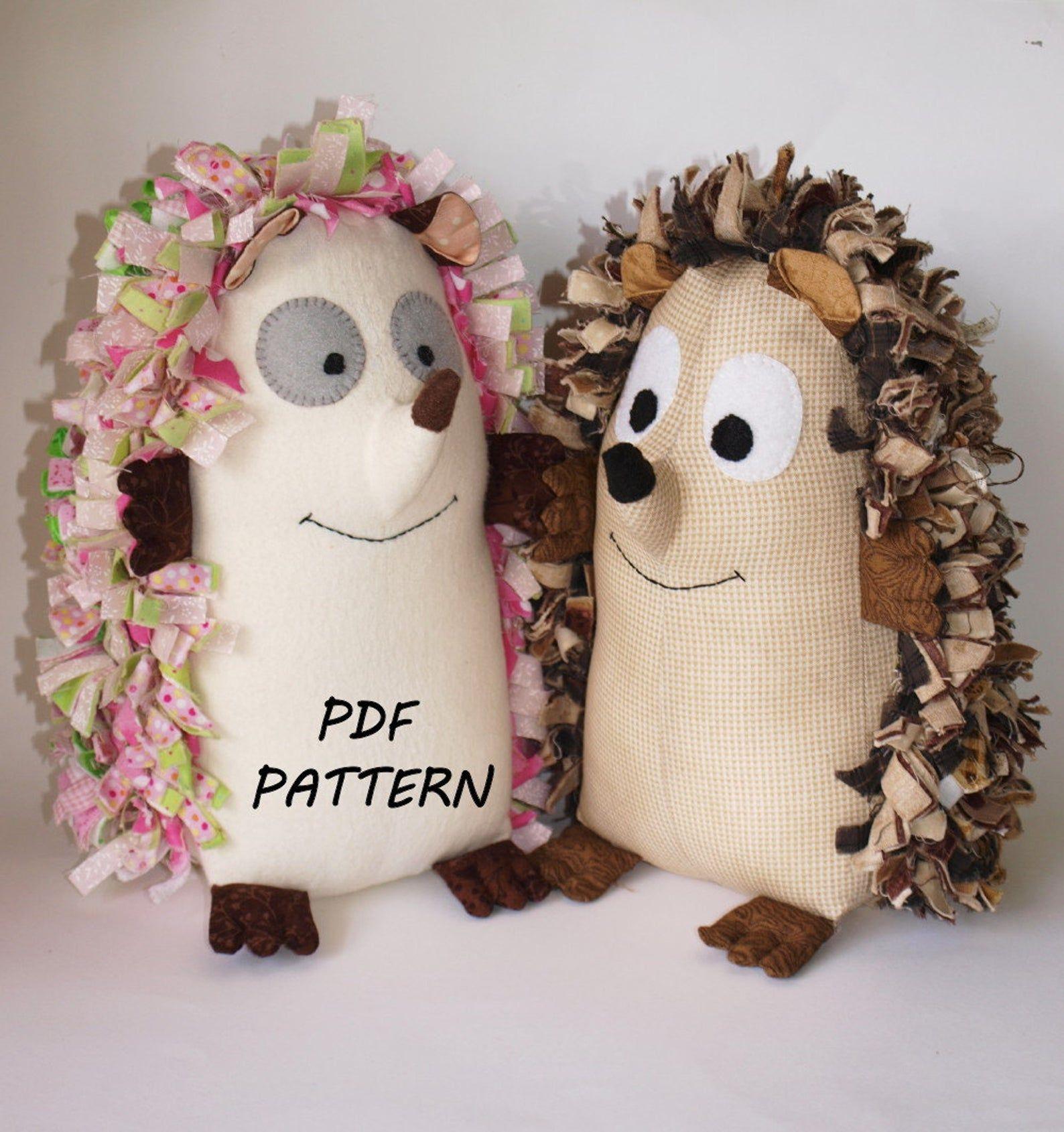 Hedgehog Pdf Sewing Pattern Soft Toy Echidna Porcupine Etsy Soft Toy Patterns Sewing Patterns Stuffed Animal Patterns [ 1690 x 1588 Pixel ]