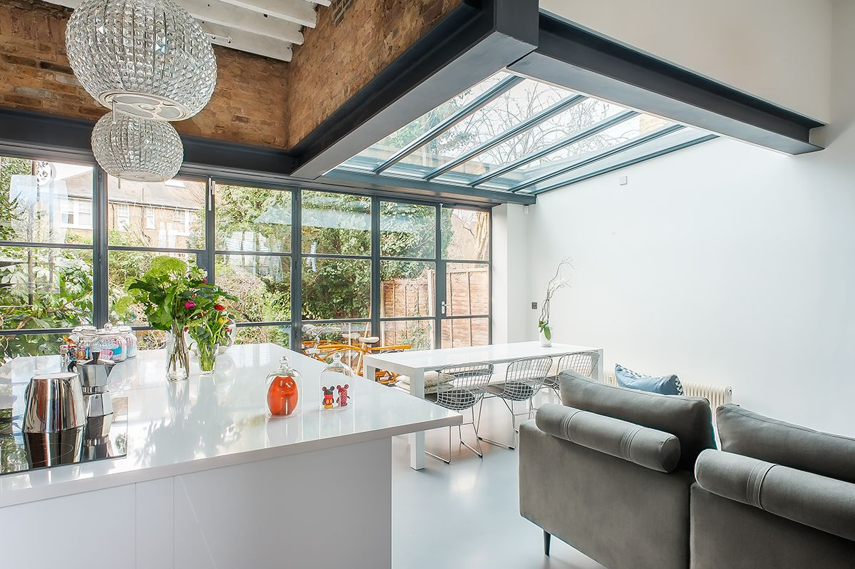 glazed kitchen extension by www.hollandgreen.co.uk | hg kitchen
