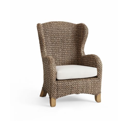 Seagrass Wingback Chair Gray Wash In 2019 Home Is Where