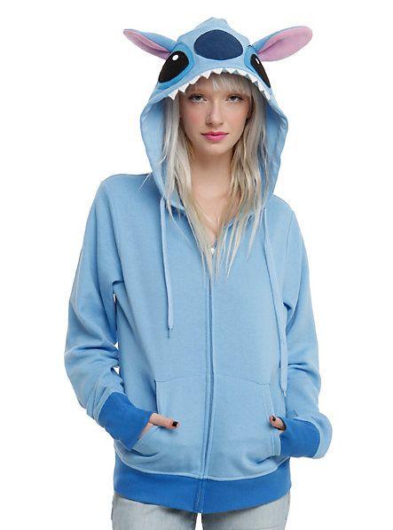 574582f8b Disney Lilo & Stitch Girls Costume Hoodie   chamarras   Disfraz de ...