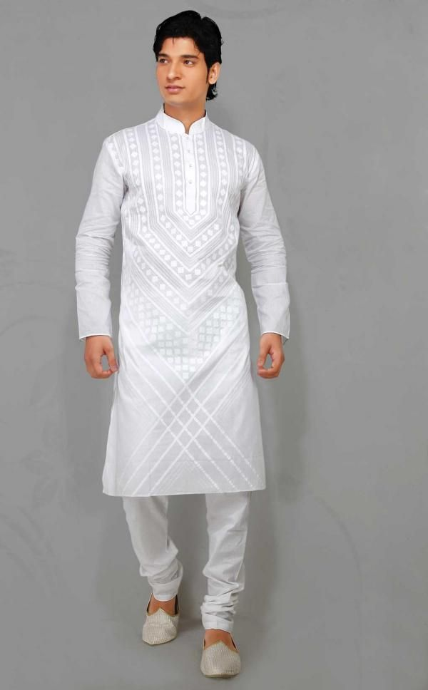 efa0c6132f Stay Comfortable with Regular Ethnic Kurta Pajama for Men   Fashion ...