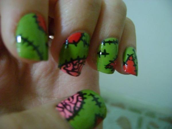 zombie nails: http://ohhai69.deviantart.com/art/zombie - Zombie Nails: Http://ohhai69.deviantart.com/art/zombie-nails-D