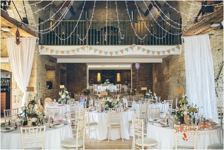 Wedding Photography At The Great Tythe Barn Tetbury