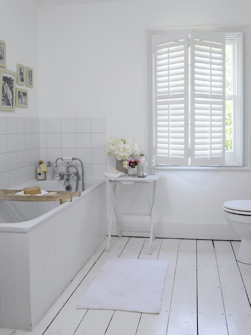 Gallery | White painted wood floors, Painted wood floors