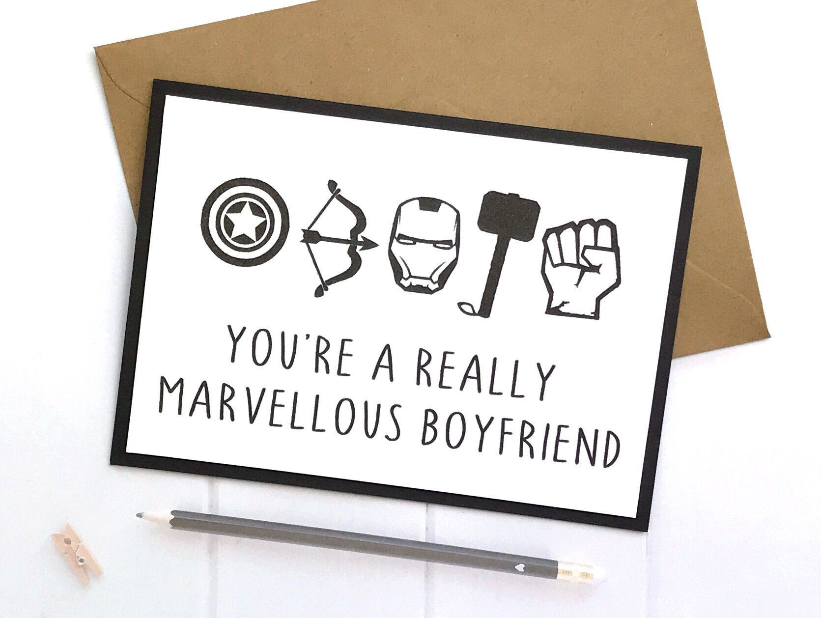 Excited To Share This Item From My Etsy Shop Anniversary Card For Boyfriend Anniversary Cards For Boyfriend Cards For Boyfriend Birthday Cards For Boyfriend