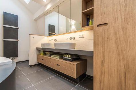 Wohnideen, Interior Design, Einrichtungsideen  Bilder - badezimmer waschbecken mit unterschrank