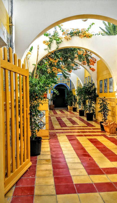 """opened door"" in Mahdia, Tunisia."