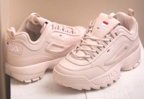 Details about FILA 17FW DISRUPTOR II PALE PINK FS1HTZ3075X ...
