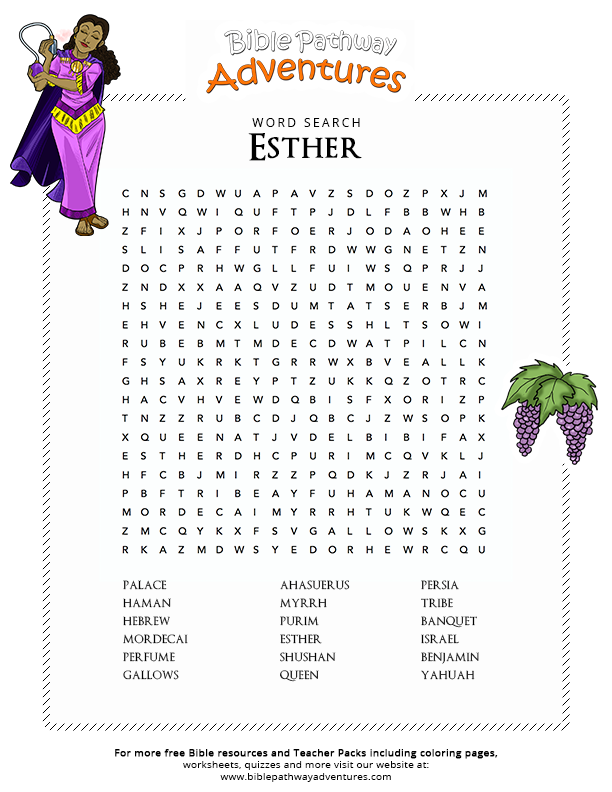biblical quiz on the book of esther pdf