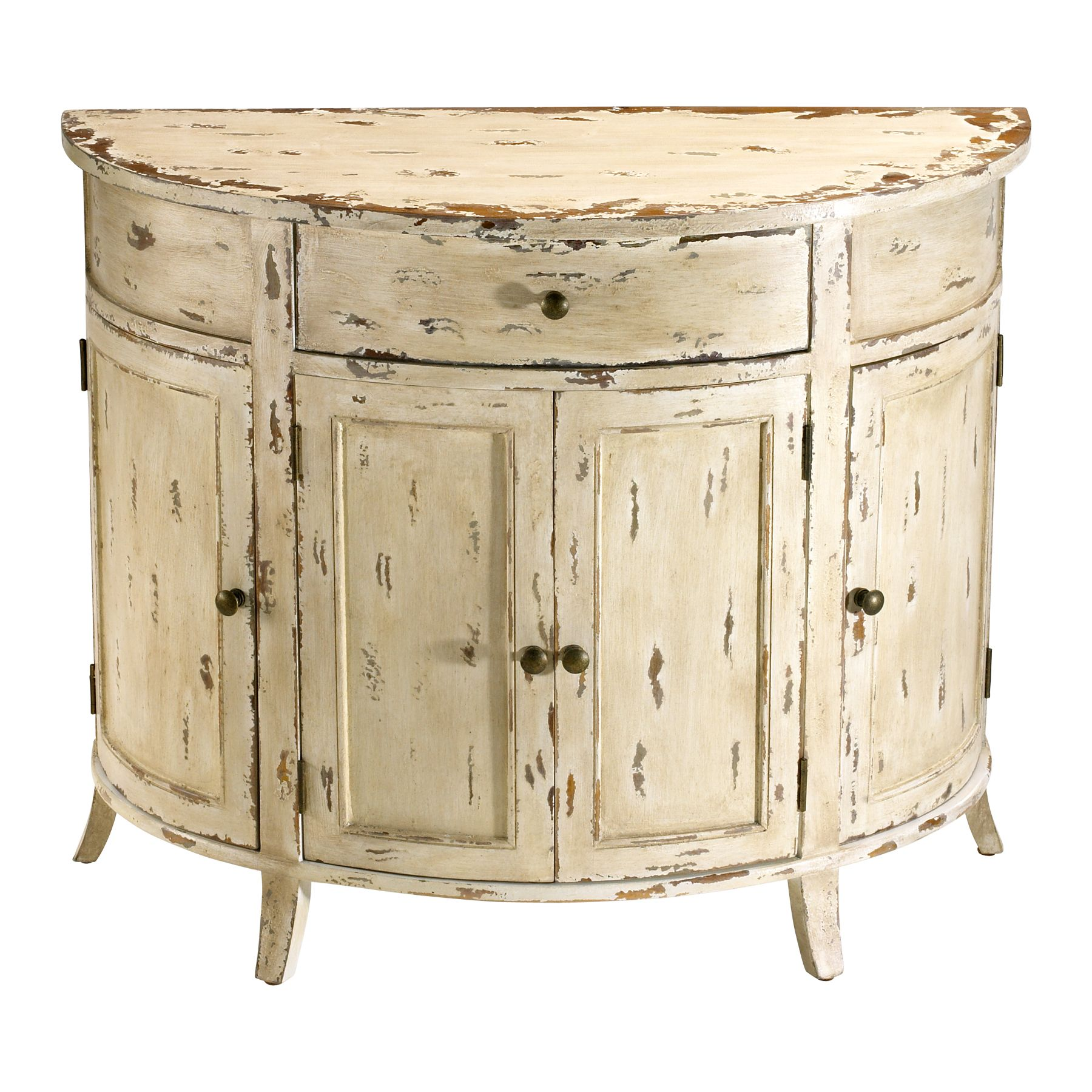 Furniture > Bedroom Furniture > White Finish > Distressed Antique .