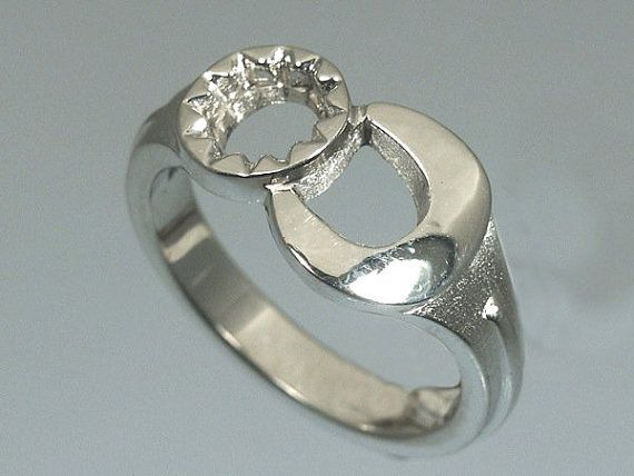 Sterling Silver Wrench Ring by Cavallo Fine Jewelry Sterling