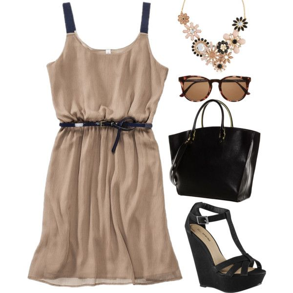 """""""Lunch In NYC"""" by thenadsfashion on Polyvore"""