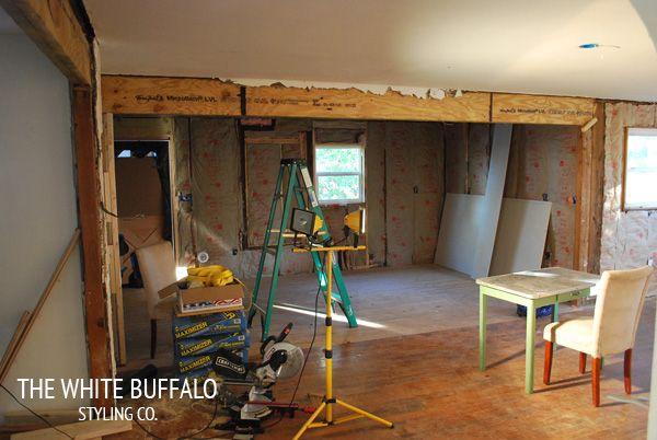 Taking Down Walls and Creating an Open Concept | Family ...