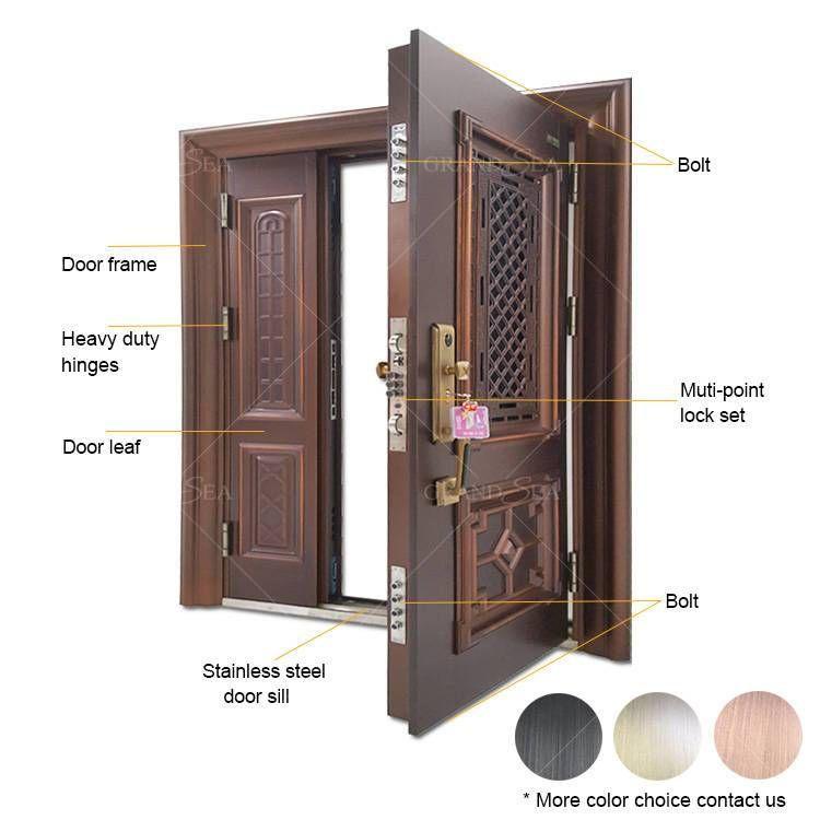 Luxury Residential Steel Security Doors Steel Security Doors Security Door Steel Doors
