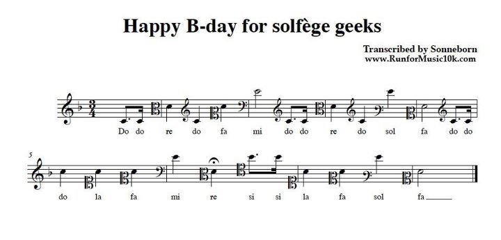 Happy B Day For Solfege Geeks With Images Music Jokes