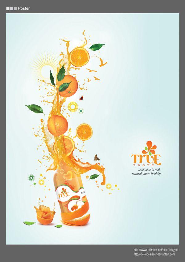 Fruit Juice Branding by Soha El Nassag, via Behance ...