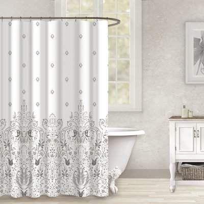 c29cab2c4e7 Wayfair Harris Cotton Shower Curtain  shower  curtains  cozyhomeideas101   bath  bathroom