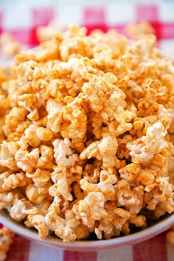 Bbq Ranch Popcorn Recipe Microwave Seasoned With Dressing Mix Paprika And Brown Sugar Great Snack For Your Summer