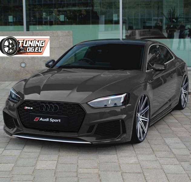 audi coupe a5 rs5 2017 tuning black audi a5 rs5 coupe. Black Bedroom Furniture Sets. Home Design Ideas