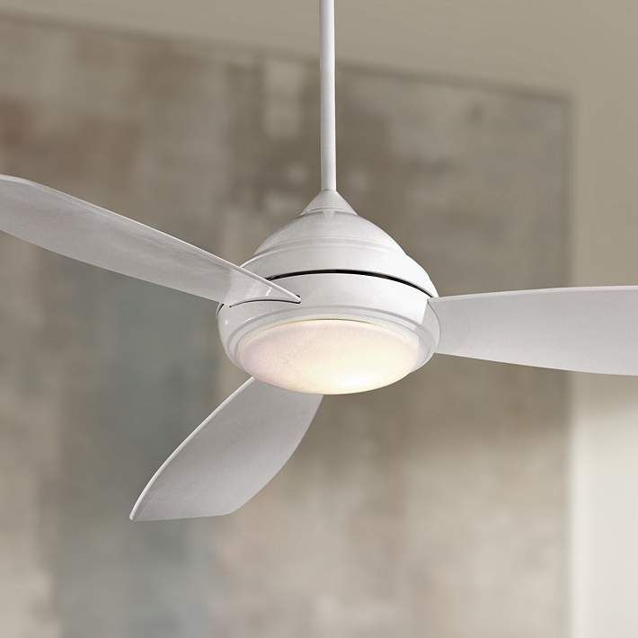 44 Minka Aire Concept 1 White Ceiling Fan 09404 Lamps Plus