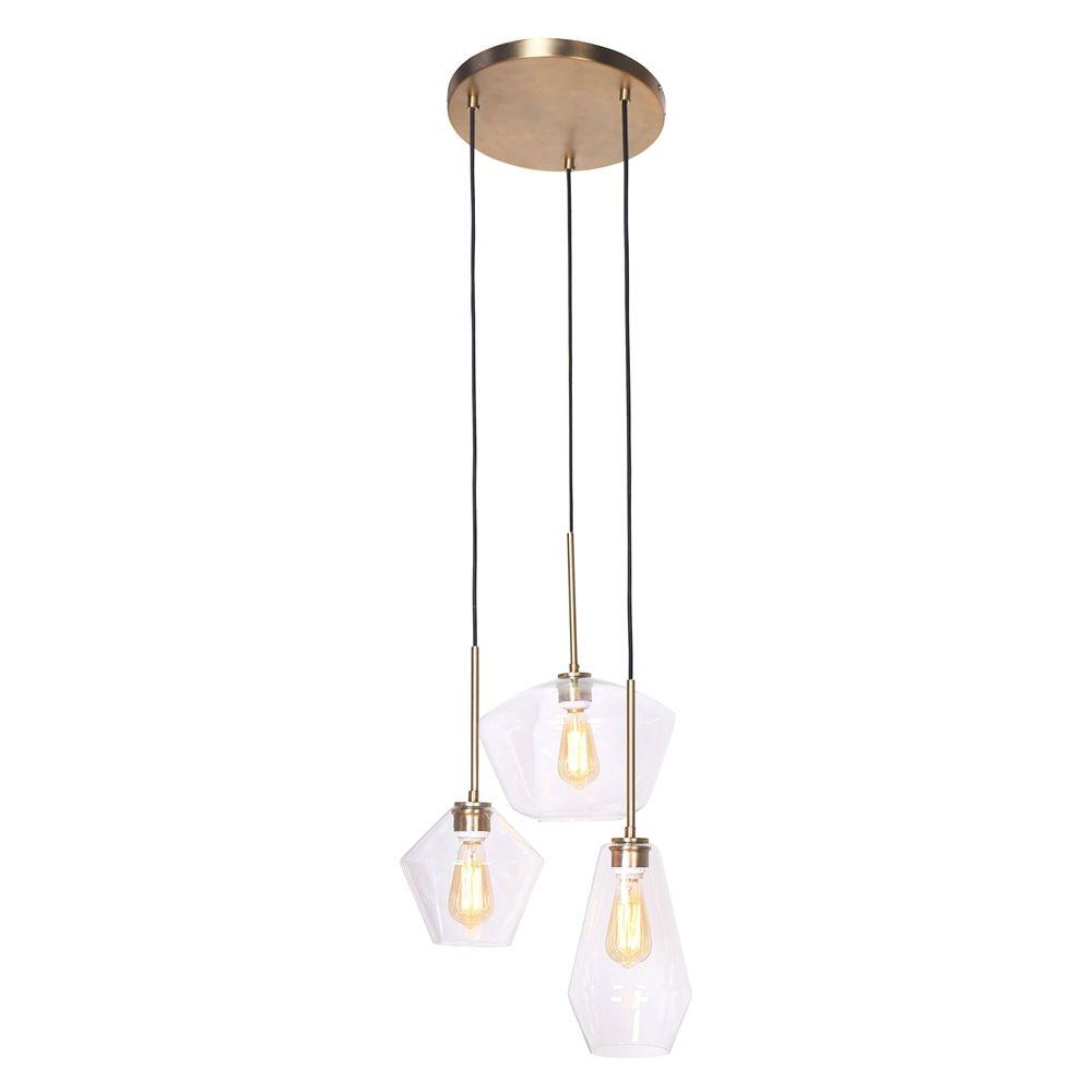 L2 Lighting 3 Light Multi Pendant Lamp Lowe S Canada