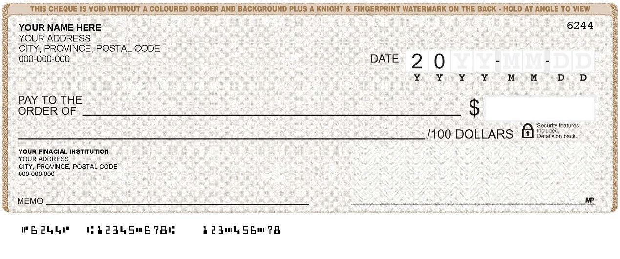 black cheque template royal bank - Google Search Financial - check template