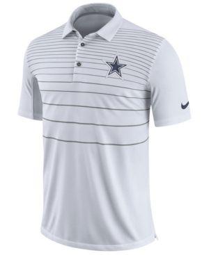 Nike Men s Dallas Cowboys Early Season Polo - White XXL  2f67cdd5d