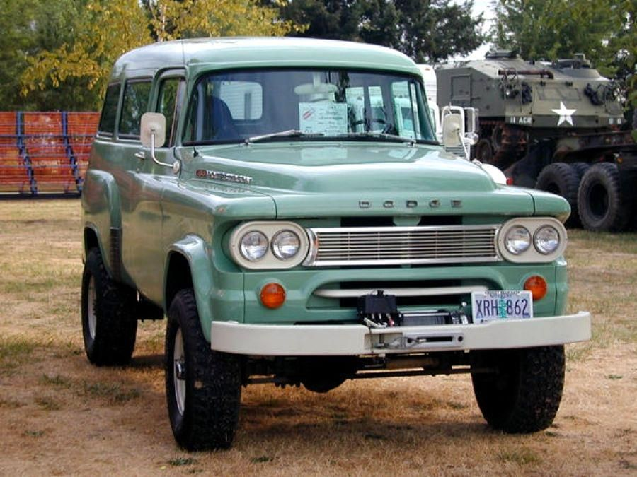 1959 Dodge Power Wagon. | Classic / Unique / All-Around Awesome ...