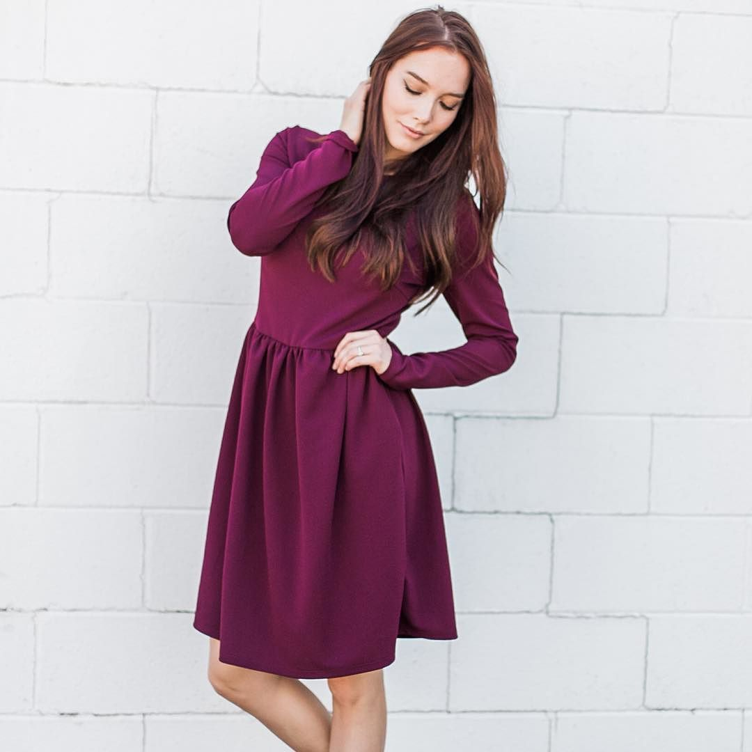 Shooot. Our new arrivals are too cute. Just added them! Find this dress and more at hotcommodesty.com
