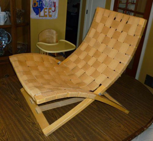 Mcm Ingmar Relling Westnofa Folding Chair Siesta Wegner Danish Modern Webbed Ebay Chair Folding Chair Mid Century Modern Chair