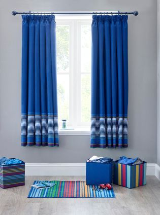 Blackout Curtains boys blue blackout curtains : 17 Best images about Finn room on Pinterest | Childrens curtains ...