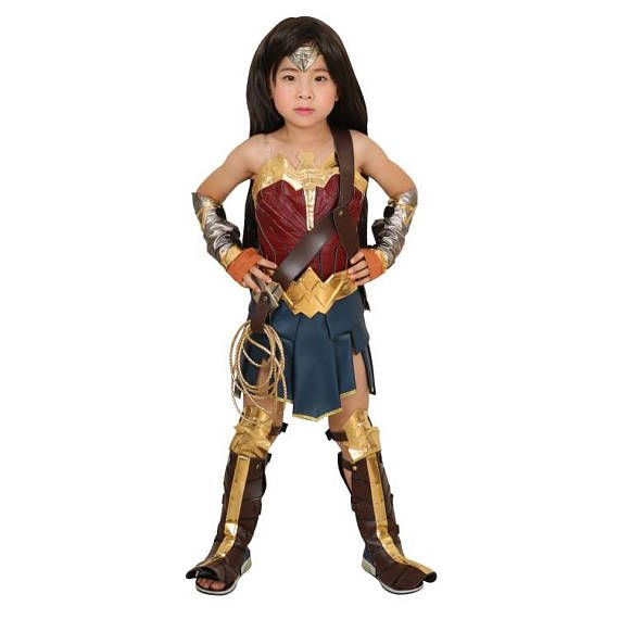 Wonder Woman Halloween Costume Kids.Kids Princess Diana Cosplay Costume Wonder Woman Halloween
