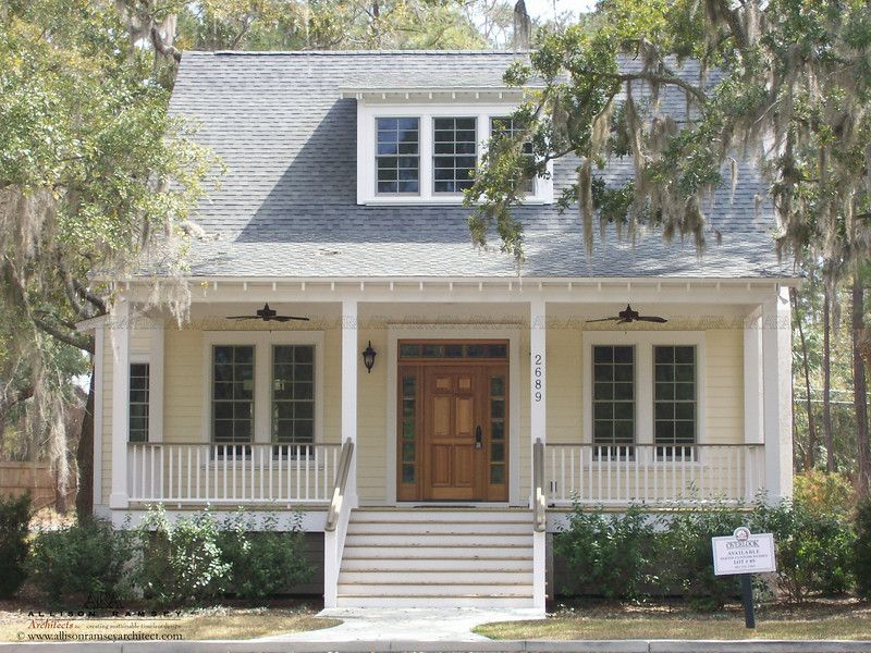The sumter plan by allison ramsey architects built at Carolina cottage house plans