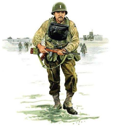 U.S.ARMY - Soldato della 4th Infantry Division (Ivy ...