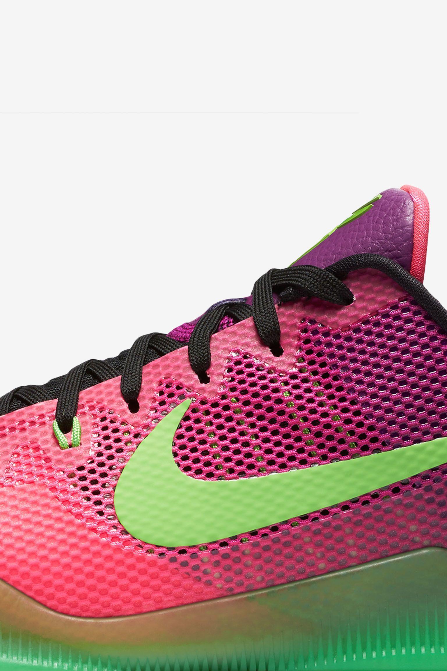 new arrival 6dc96 f43c4 Nike Kobe 11 Mambacurial  Pink Flash .