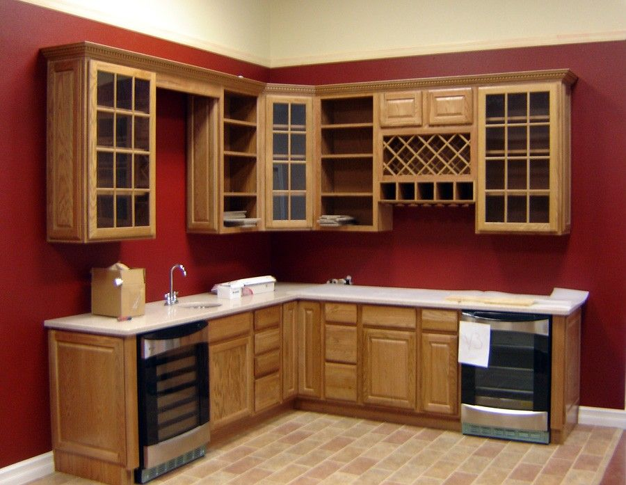 Wine Rack Red Kitchen Walls Corner Kitchen Cabinet Kitchen Wall Colors