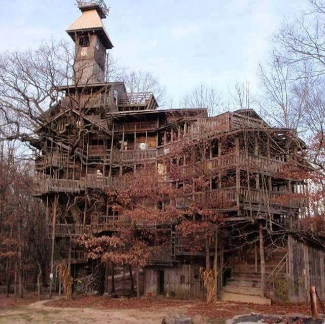 The Minister's Tree House, Crossville, TN. (With Images