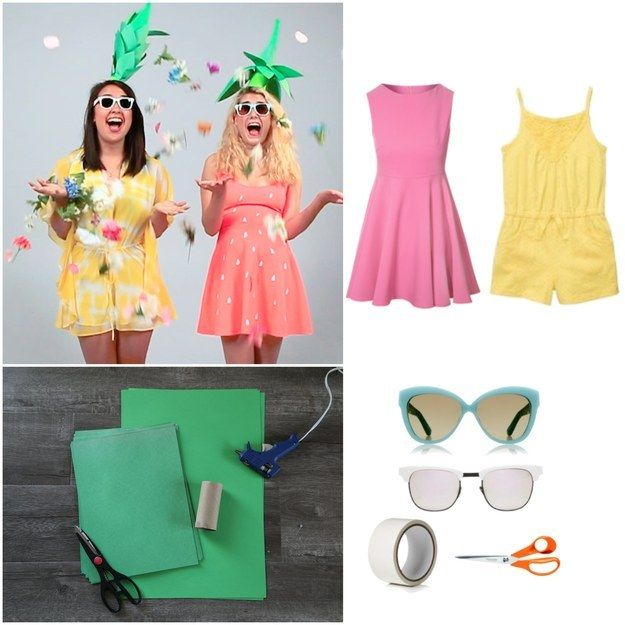 impossibly cute diy bff halloween costumes - Cute Bff Halloween Costumes