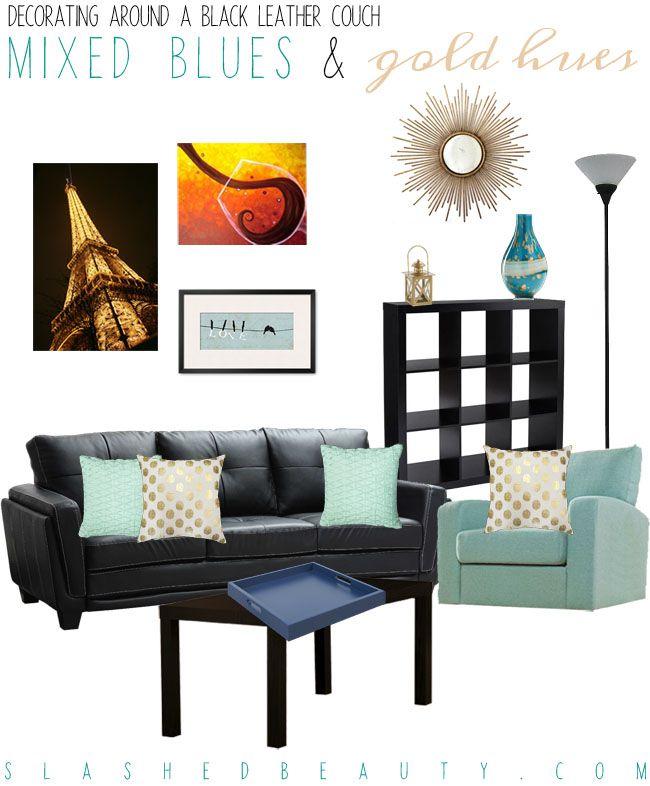 Super Decorating Around A Black Leather Couch Black Leather Sofa Creativecarmelina Interior Chair Design Creativecarmelinacom
