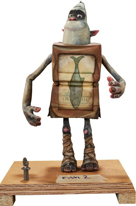 Animation Art:Maquette, The Boxtrolls Fish Original Animation Puppet (LAIKA,2014)... Image #1
