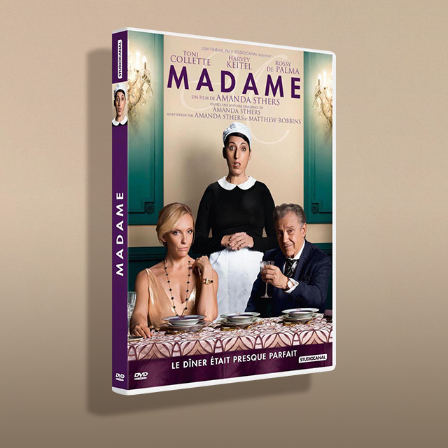 Madame de Amanda Sthers Avec Harvey Keitel DVD à