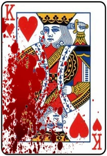 This card represents Duncan's death. In a deck of cards if ...