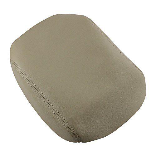 Dayincar Console Lid Armrest Cover Case Imitation Leather Beige For 2009  2010 2011 2012 2013 HONDA