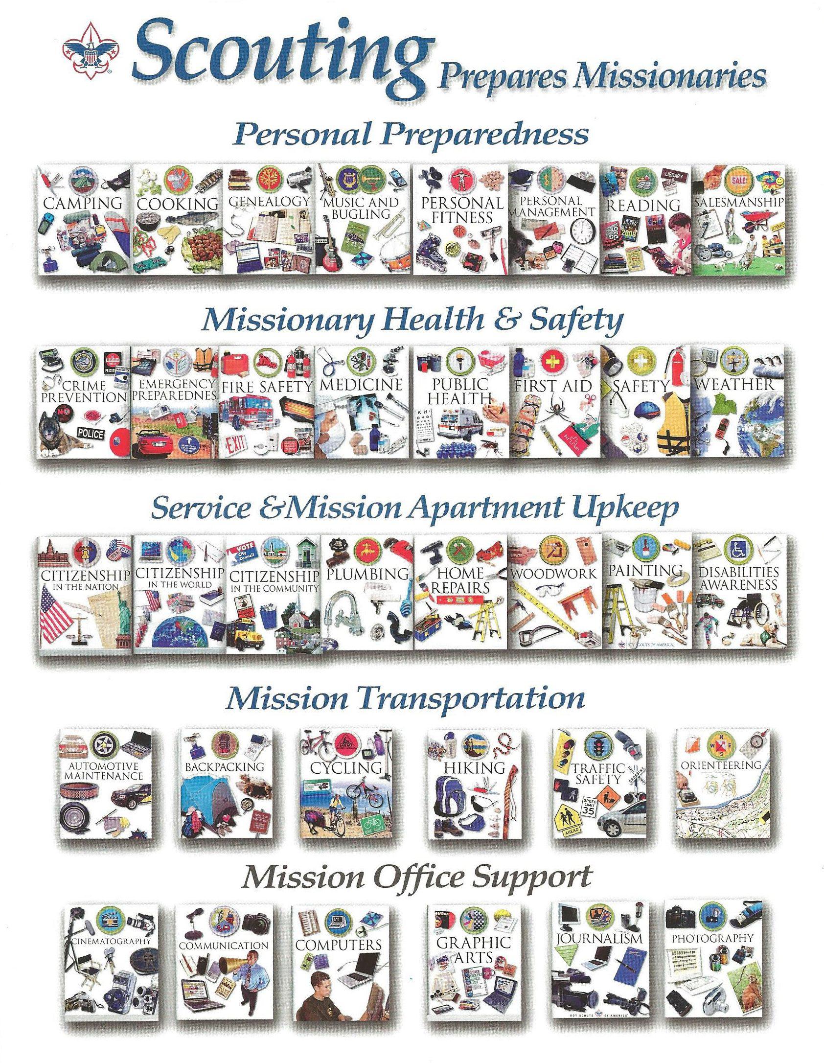 Scouting Merit Badges That Can Help Prepare Missionaries