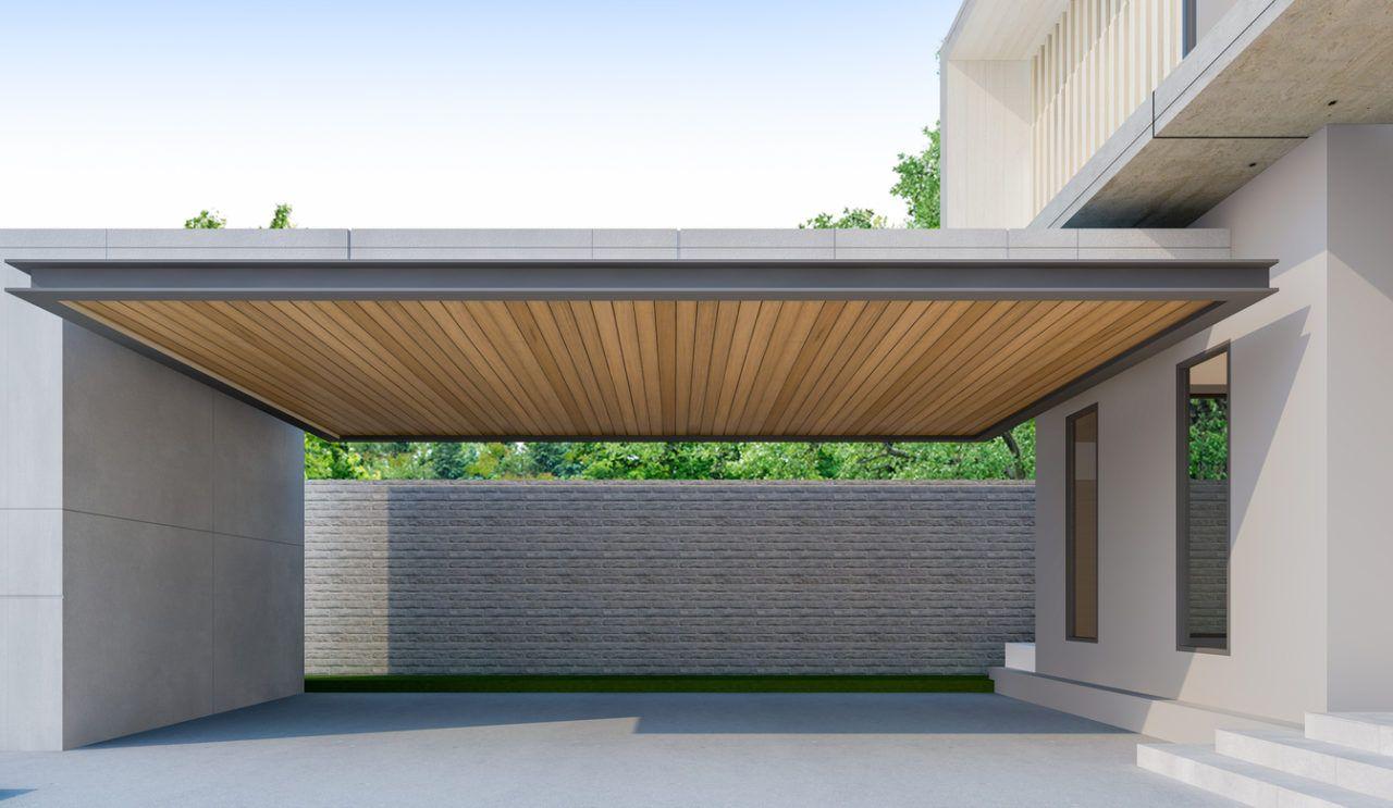 カーポート 駐車場 ガレージ のリフォーム工事費用や価格の相場は 2020 平屋 外観 モダン リフォーム ガレージ カーポートのデザイン