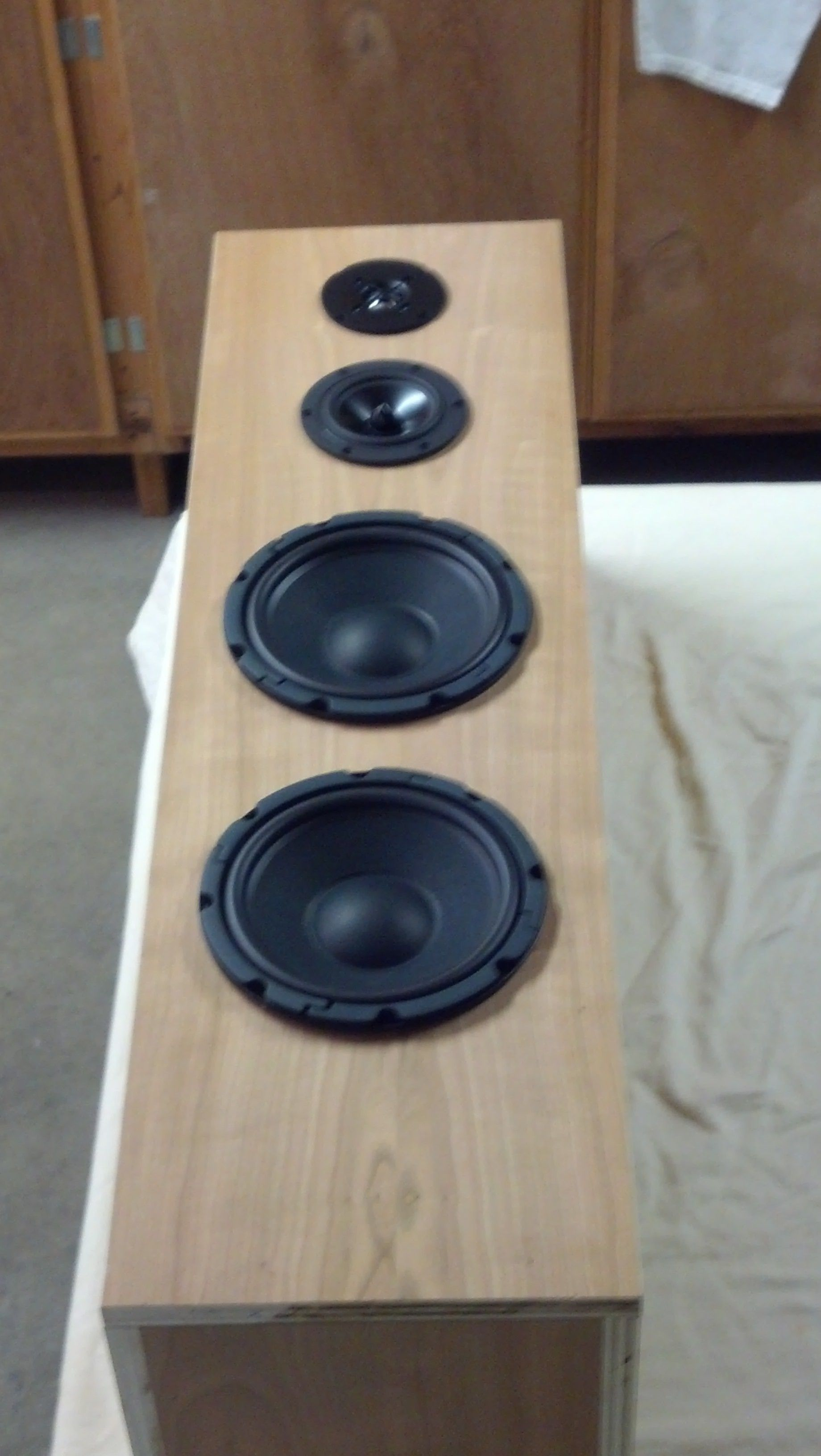How To Wire A Speaker Cabinet In 2020 Tower Speakers Speaker Projects Speaker Design