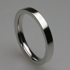 Times Square Wedding Ring In Platinum