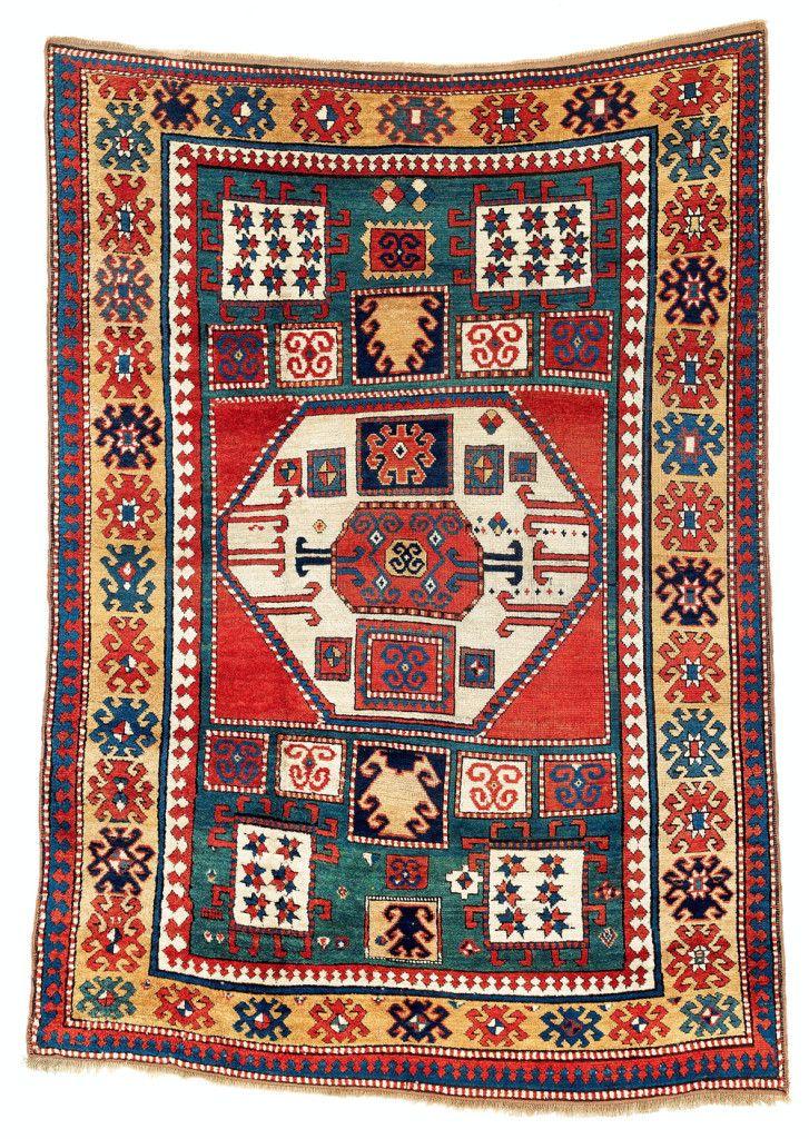 Karachov Kazak rug. Sold for €23,180 Rugs on carpet