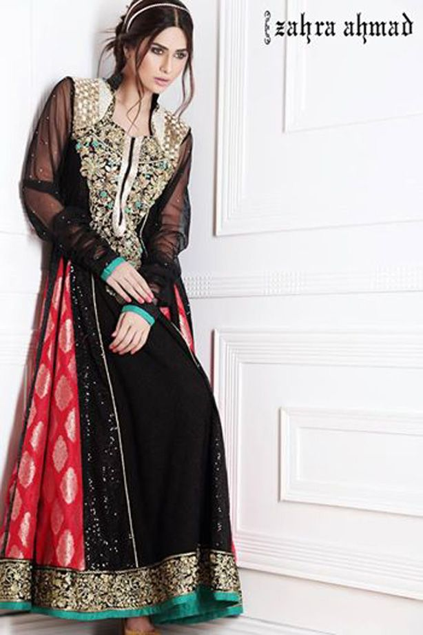 Latest Pakistani Fashion Frocks 2016 2017 Women Designer Dresses Stuff To Buy Pinterest