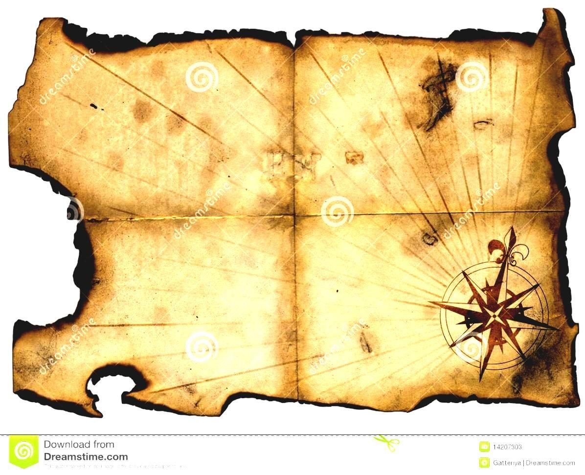 Blank Treasure Map Clip Art World Oceans Study Geography ...
